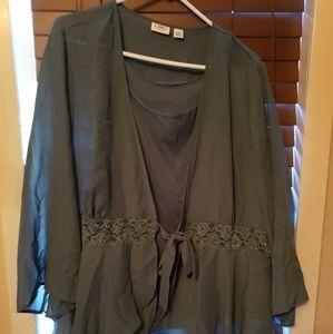 Beautiful dressy blouse.